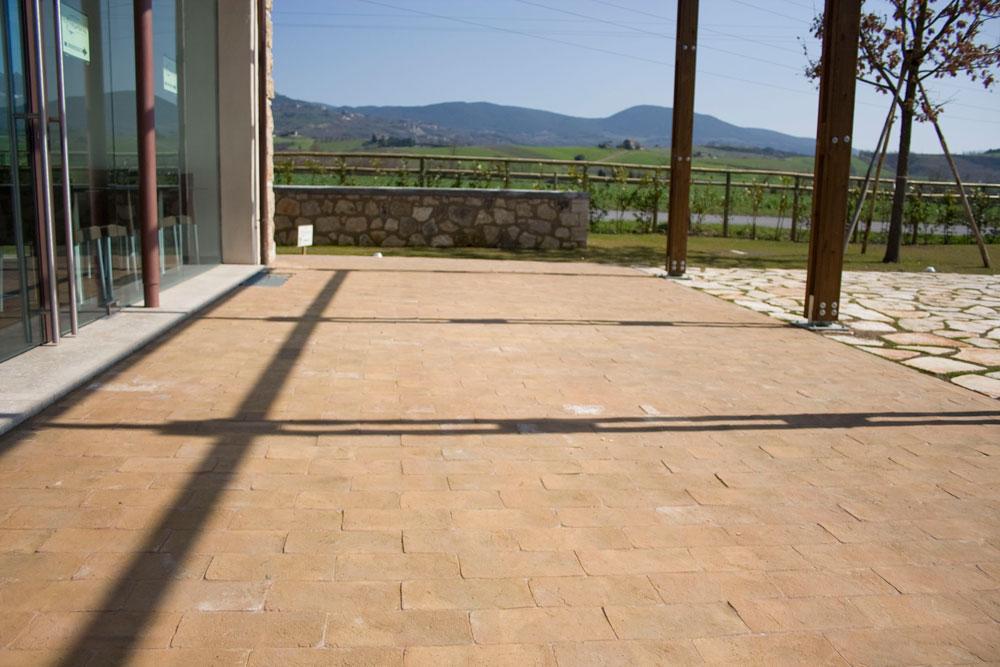 Strutture con il cotto cotto fatto a mano di fornace - Parquet esterno ikea ...
