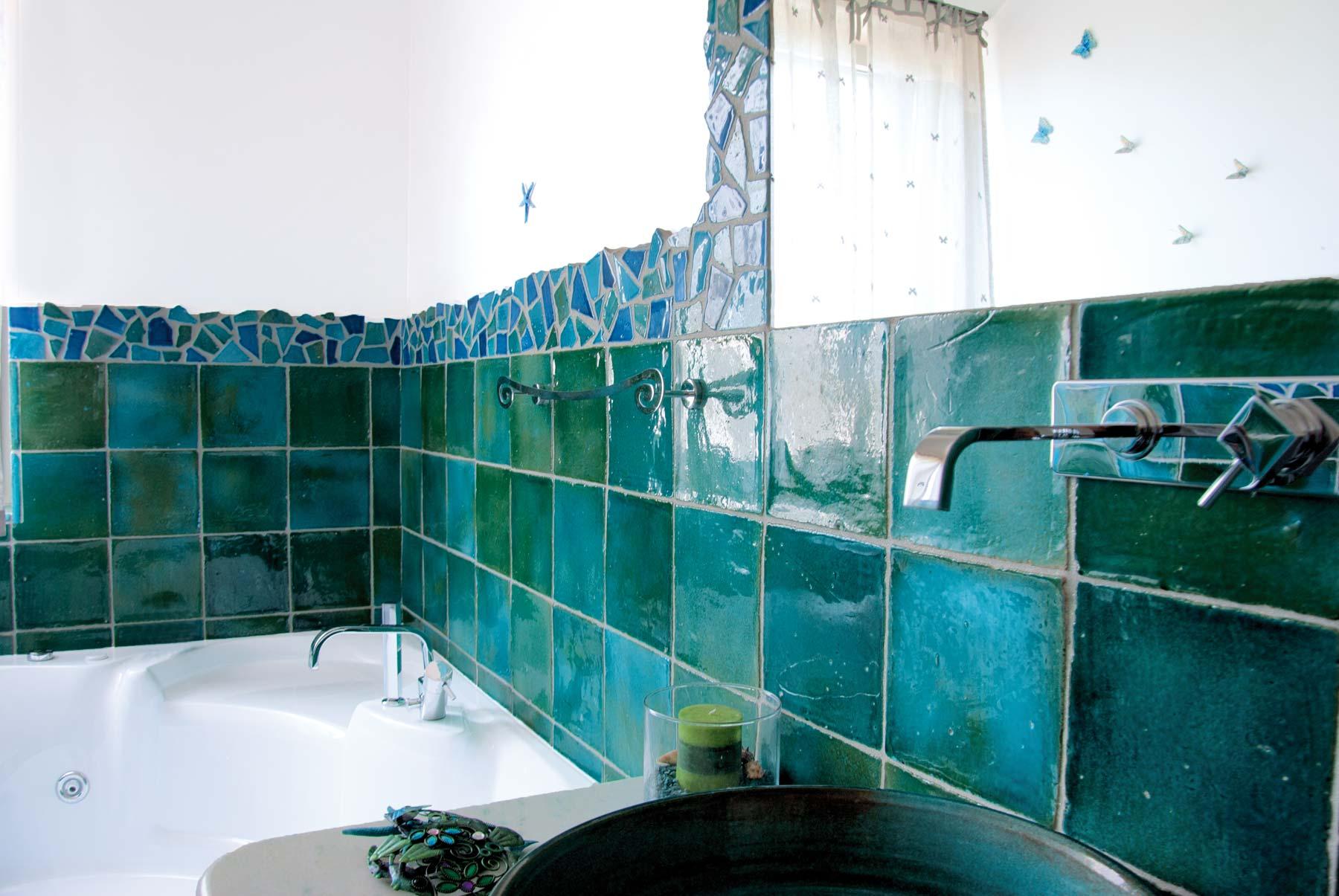 Il cotto smaltato di fornace bernasconi - Malta a novembre bagno ...