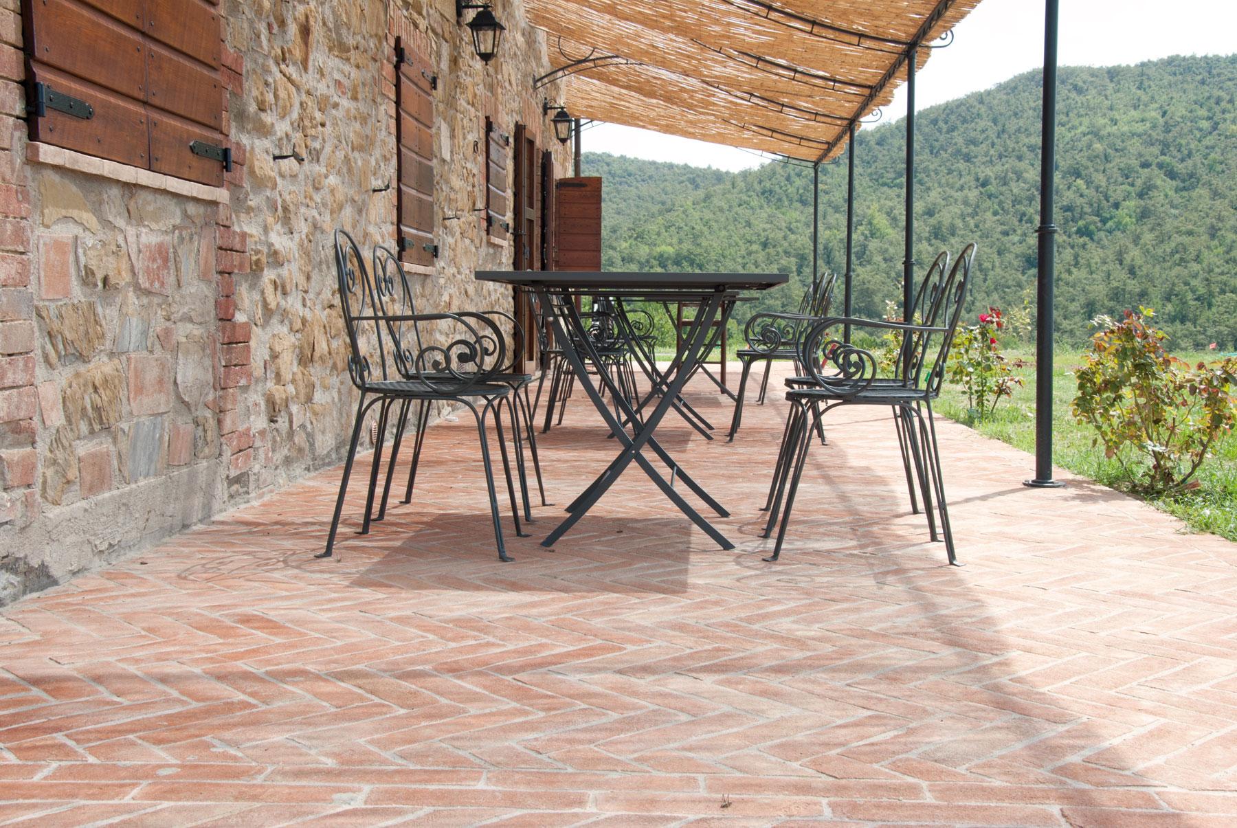 Pavimenti in cotto per esterni vantaggi del pavimento esterno in