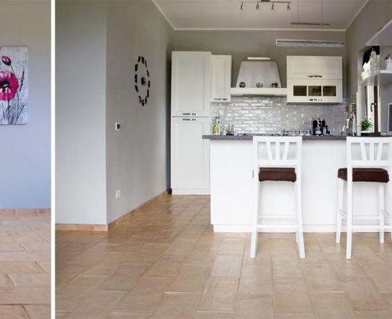 In cerca di ispirazione foto di interni con pavimenti in for Pavimento per cucina