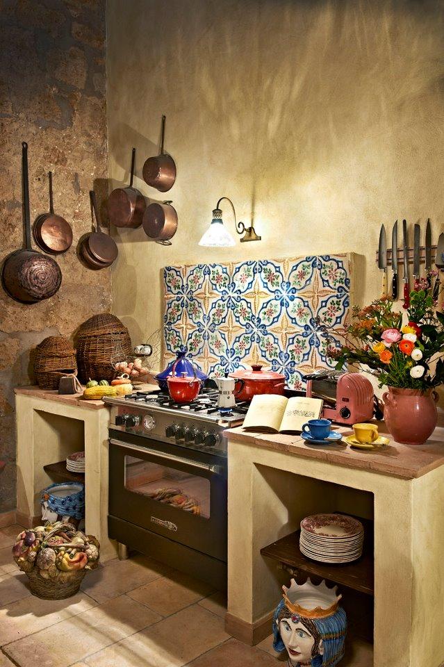 Cucine in muratura cotto fatto a mano di fornace bernasconi - Cucine di seconda mano ...